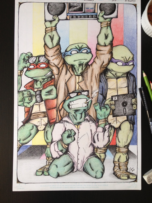 Turtles in the '80s